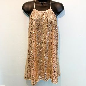 NWT VS Sequin Cocktail Dress Size Large